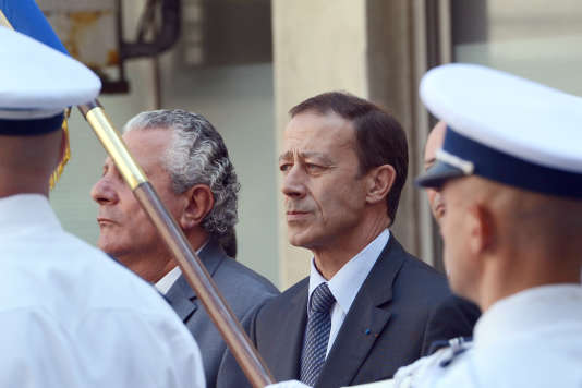 Le préfet Alain Gardère, à Marseille en septembre 2012.