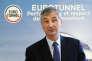 Jacques Gounon, le PDG d'Eurotunnel.