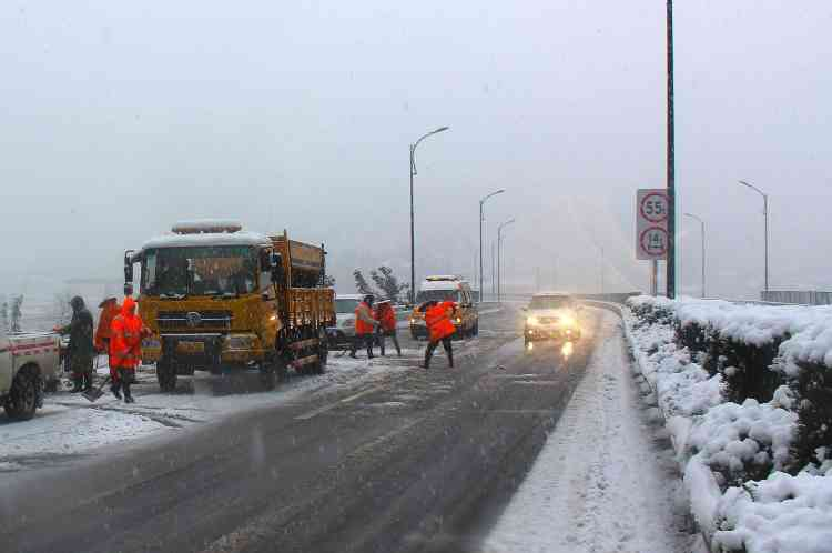 Le Centre national météorologique (NMC) a décrété une alerte orange sur l'ensemble du territoire.