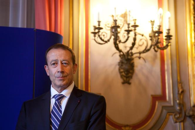 Alain Gardère en2011, année où il prend ses fonctions de préfet délégué à la sécurité à Marseille.