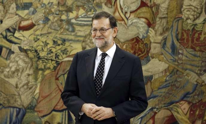 Mariano Rajoy, le 22 janvier 2016.