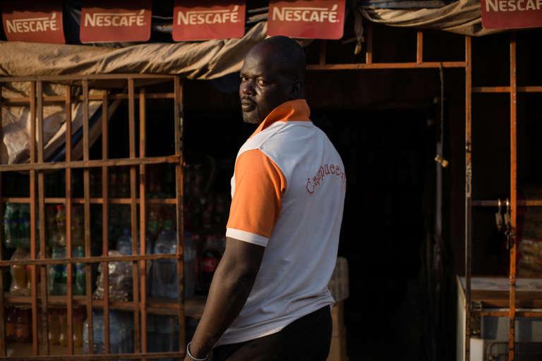 Ousseni Rectounga, vigile au Cappuccino, témoin de l'attentat survenu le 15 janvier 2016 à Ouagadougou.