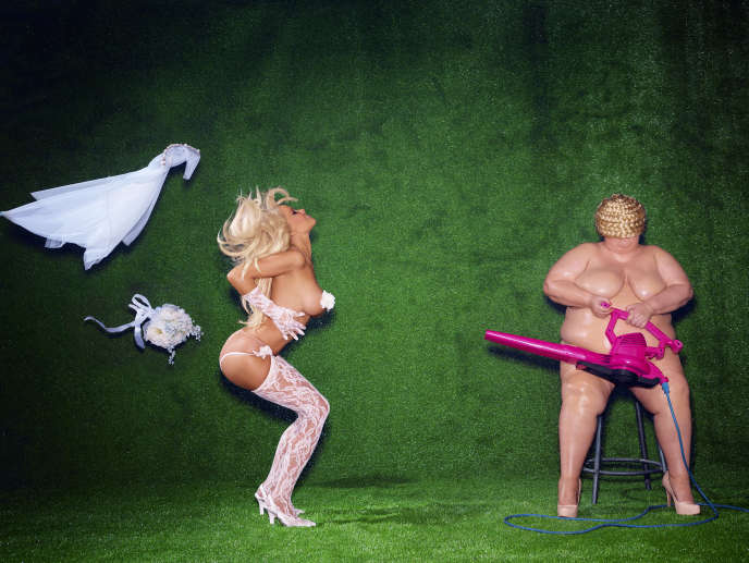 Pamela Anderson a choisi une jeune créatrice de luxe, Amélie Pichard, pour la ligne de chaussures