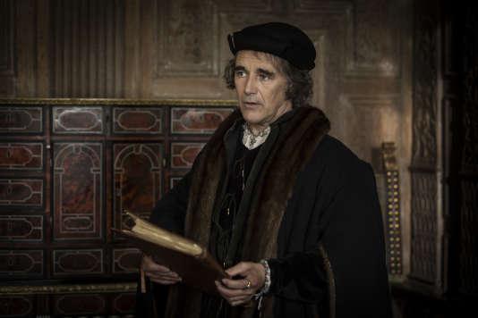 Mark Rylance (Thomas Cromwell) dans la série «Wolf Hall» que diffuse Arte.
