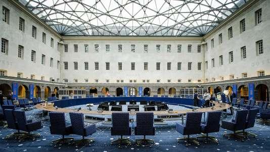 Le Musée de la Marine à Amsterdam où se tiendra le 25 janvier 2016 la réunion ministérielle qui devra appeler à une action rapide concernant la lutte antiterroriste ainsi que la gestion des migrants et de l'espace Shengen.