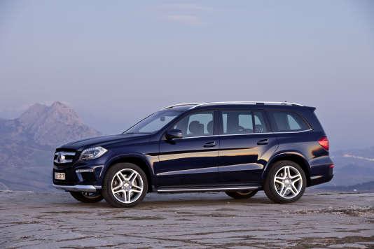 Parmi les véhicules les plus coûteux au kilomètre, le SUV de Mercedes GL 350 BlueTec : 4,60 €.