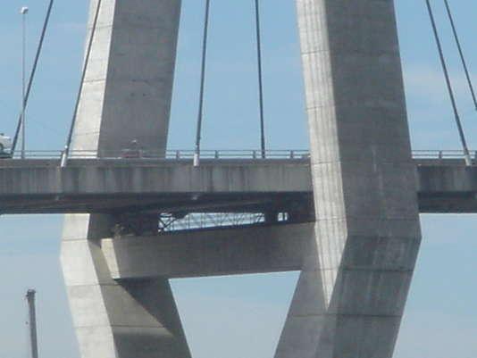 Détail du pont Anzac de Sydney (Australie).