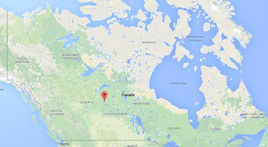 Le drame a eu lieu à La Loche, une petite ville de 2 500 habitants du centre du Canada.