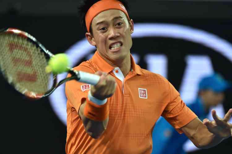 Le Japonais Kei Nishikori s'est qualifié pour les huitièmes de finale en battant l'Espagnol Guillermo Garcia-Lopez en quatre sets (7-5, 2-6, 6-3, 6-4).