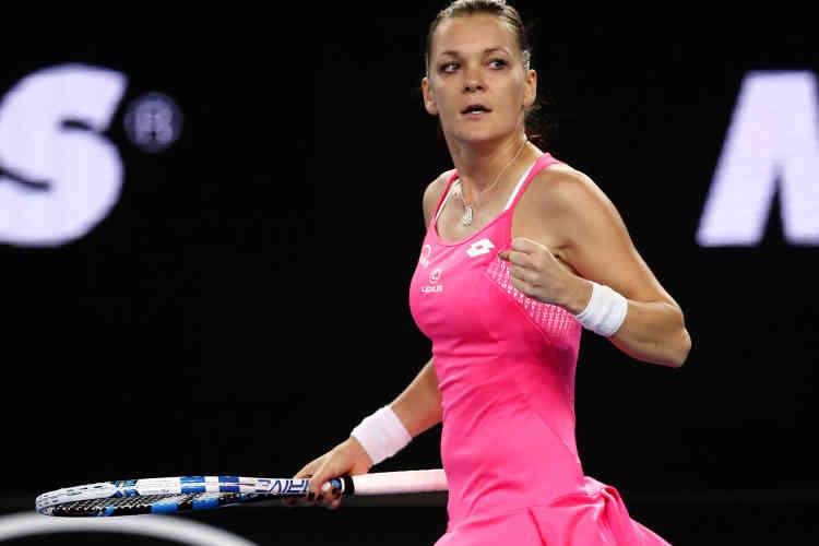 La Polonaise Agnieszka Radwanska, 4e joueuse mondiale, a éliminé la Portoricaine Monica Puig (52e) en deux sets, 6-4, 6-0.