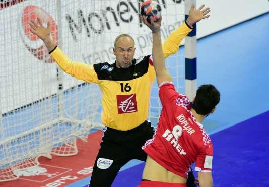 Thierry Omeyer a été élu homme du match lors de la victoire française face à la Croatie samedi.