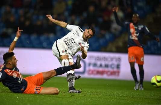 L'attaquant Andy Delort a participé au succès de Caen à Montpellier samedi (2-1).
