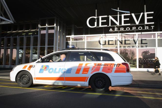 L'aéroport de Genève, le 12 décembre 2015.