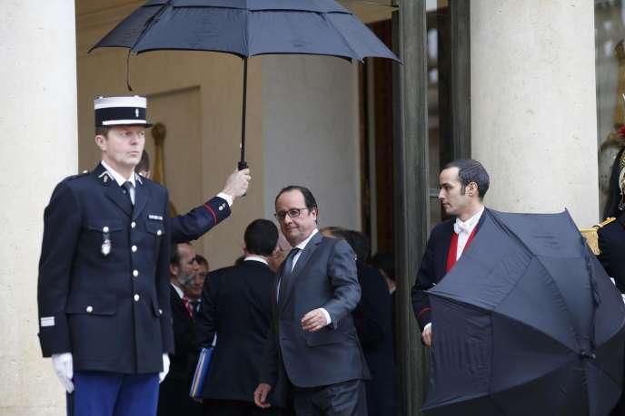 François Hollande, à l'Elysée, le 22 janvier.