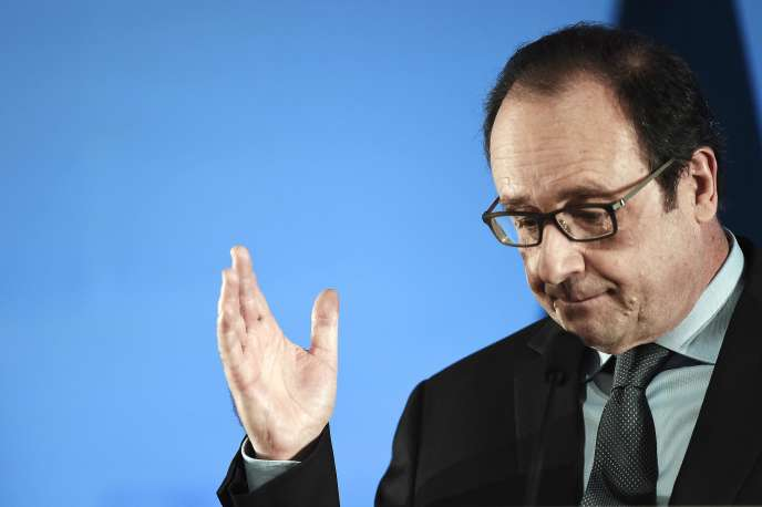 Le président François Hollande, le 23 janvier 2016 à Colmar.