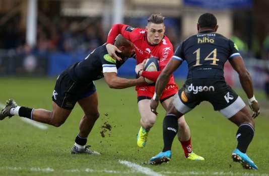 L'Australien James O'Connor et ses coéquipiers de Toulon ont battu Bath samedi en Coupe d'Europe de rugby.