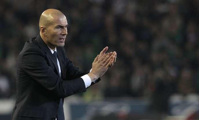 Zinedine Zidane, le 24 janvier
