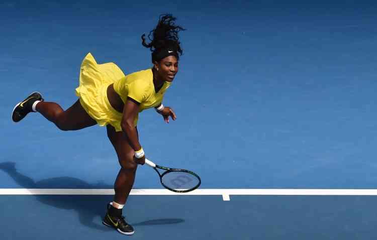 L'Américaine Serena Williams s'est qualifiée en battant la Russe Margarita Gasparyan en deux sets : 6-2, 6-1.