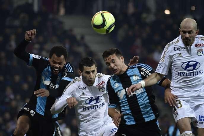 Lyon n'a pas réussi à battre Marseille dimanche lors de la 22e journée.