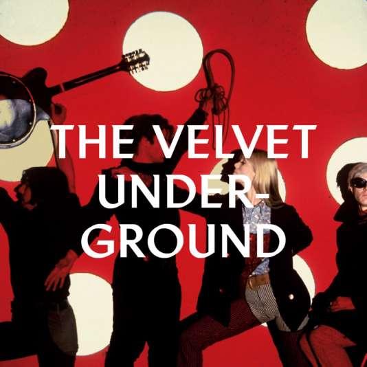 """Affiche provisoire de l'exposition """"Extravaganza"""", autour du Velvet Underground, organisée du 30 mars au 21 août à la Philharmonie de Paris."""