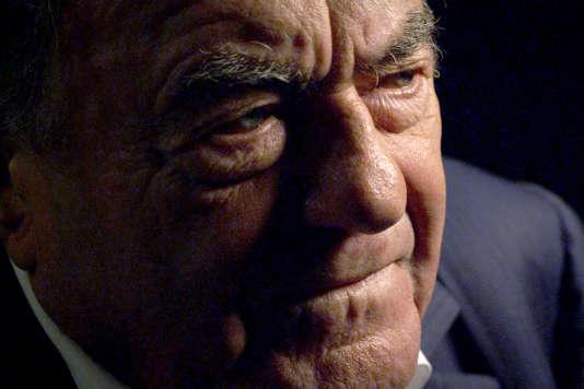 """Le réalisateur français Claude Lanzmann a travaillé pendant douze ans à la réalisation de son film """"Shoah""""."""