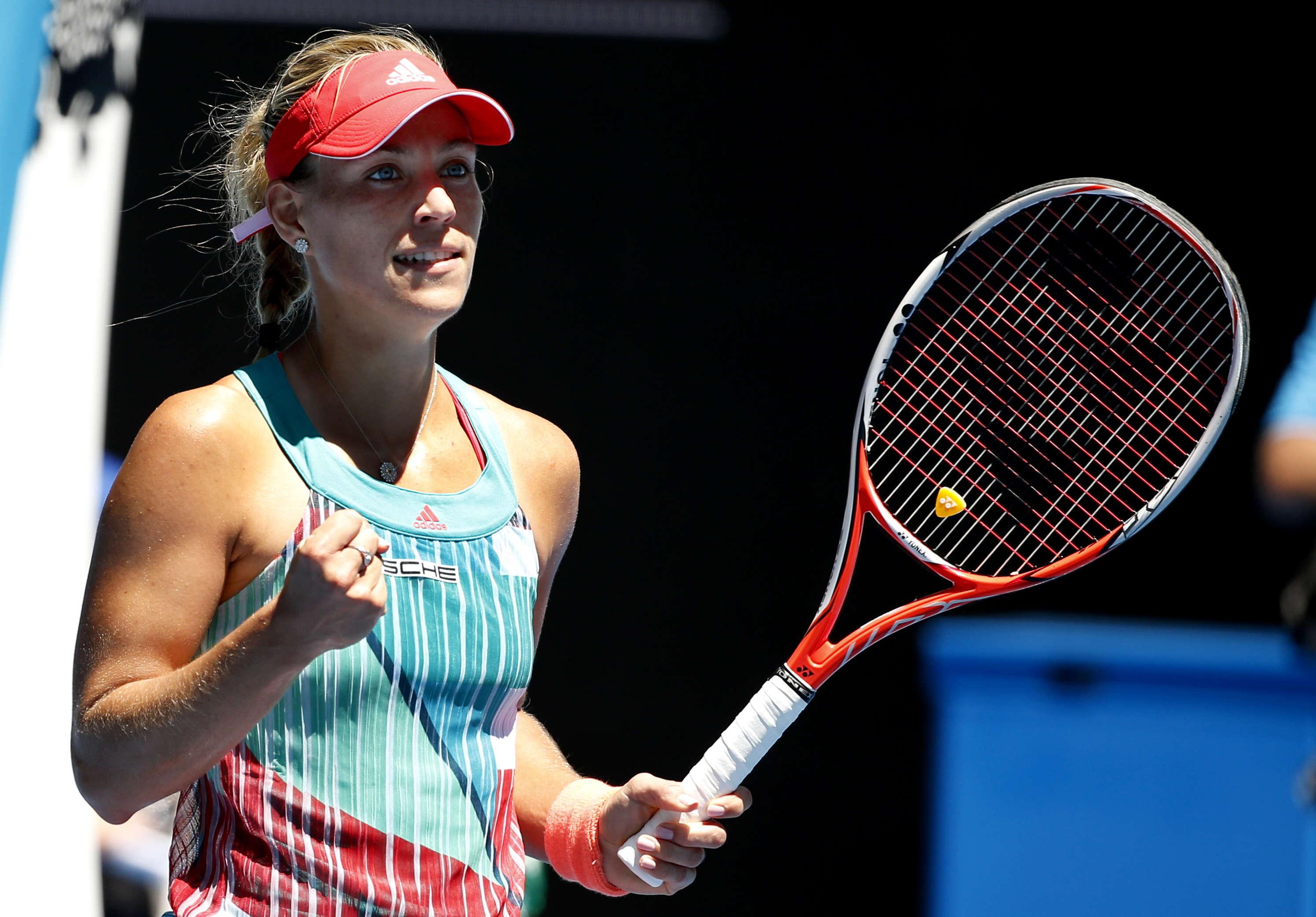 L'Allemande Angelique Kerber, tête de série numéro7, s'est qualifiée pour les quarts de finale en battant sa compatriote Annika Beck, cinquante-cinquième joueuse mondiale, en deux sets: 6-4, 6-0.