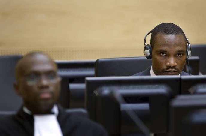 Germain Katanga le 22 octobre 2007 à La Haye, devant la Cour pénale internationale.