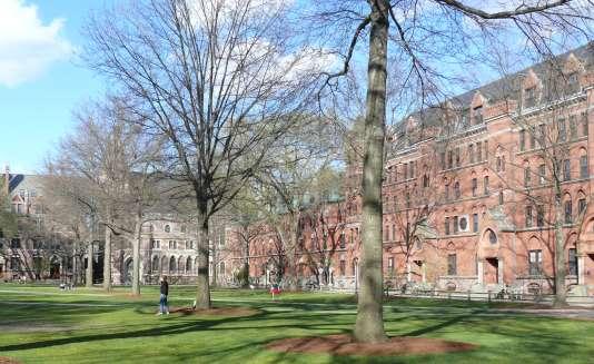 L'université de Yale, à New Haven (Connecticut).