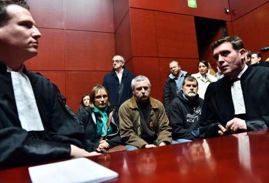 Les familles des opposants à l'aéroport ont appris leur expulsion le 25 janvier au tribunal de Nantes.