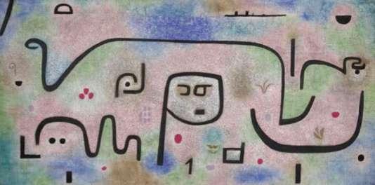 "Paul Klee, ""Insula dulcamara"", 1938, Berne, Zentrum Paul Klee."