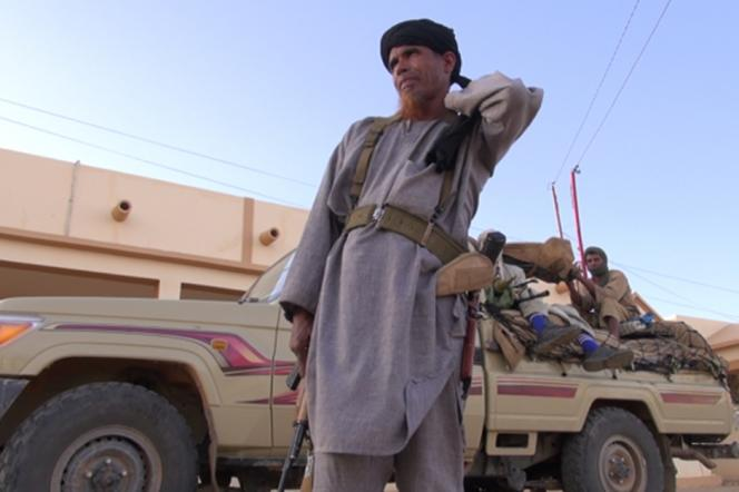 Omar Ould Hamaha, chef militaire du Mujao et lieutenant du djihadiste Belmokhtar, dans le documentaire français de Lemine Ould M. Salem et François Margolin.