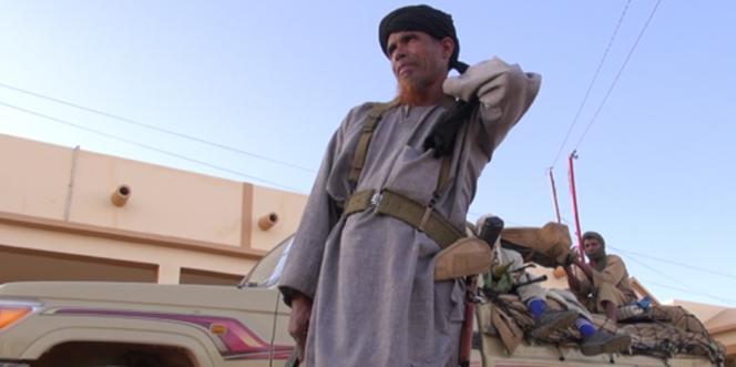 Omar Ould Hamaha, chef militaire du Mujao et lieutenant de Belmokhtar, dans le documentaire français de Lemine Ould M. Salem et François Margolin,