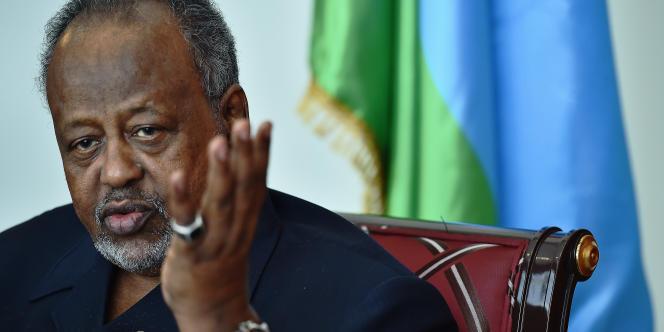 Ismaïl Omar Guelleh, président de Djibouti, le 6 mai 2015.