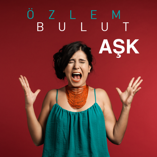 Pochette de l'album «Aşk», d'Ozlem Bulut.