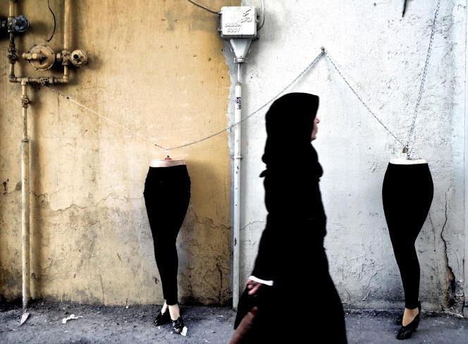 A Téhéran, en 2014.