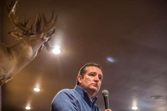 Lors d'un meeting du candidat républicain Ted Cruz, à Albia (Iowa), le 26 janvier.
