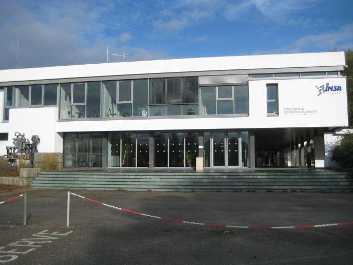 L'Institut national des sciences appliquées (INSA) de Rennes.