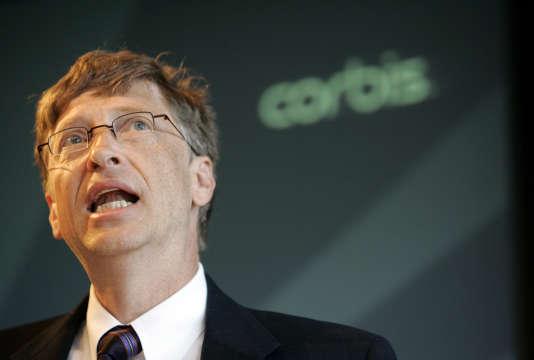 Bill Gates, fondateur de Corbis, en 2006.