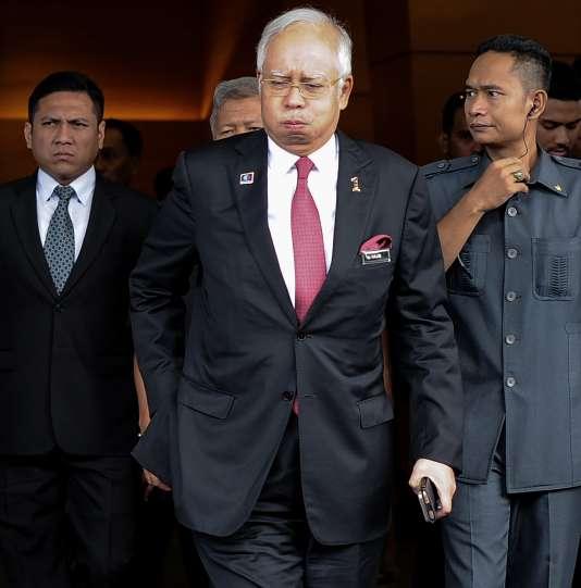 Le premier ministre malaisien Najib Razak, à Kuala Lumpur, le 26 janvier.