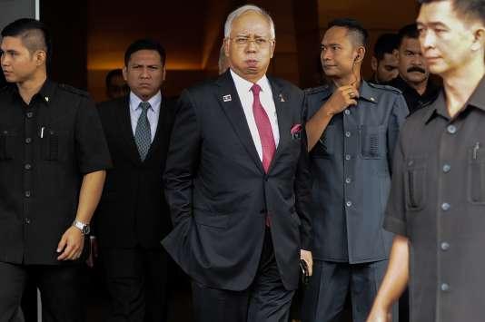 Le premier ministre de Malaisie, Najib Razak, à Kuala Lumpur, le 26 janvier 2016.