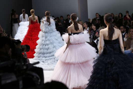 Les robes de princesse de Giambattista Valli.