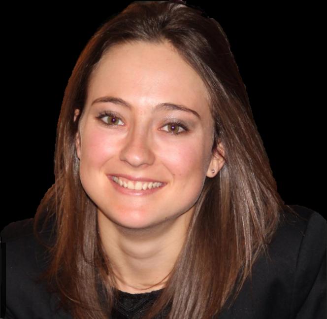Roxane Baduel, étudiante à l'EM Strasbourg.