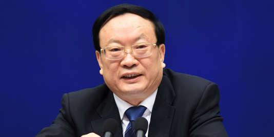 Cette annonce est survenue quelques heures seulement après que M. Wang a assisté à Pékin à une conférence de presse concernant l'économie chinoise en 2015.