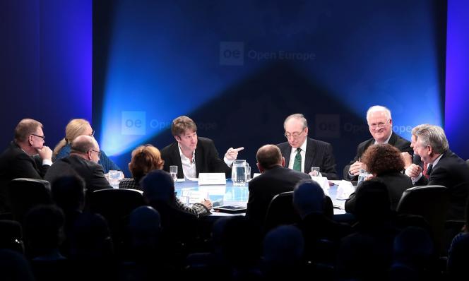 Le débat sur le «Brexit» (la sortie du Royaume-Uni de l'UE) a été organisé le 25 janvier dans une brasserie au cœur de la City, à Londres.