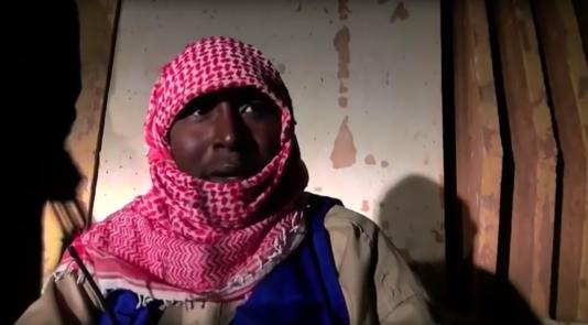 """Capture d'écran d'un extrait du documentaire """"Salafistes""""."""