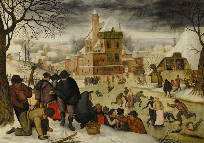 L'un des deux tableaux de Jérôme Bosch proposés par la galerie De Jonckheere à la Brafa à Bruxelles.
