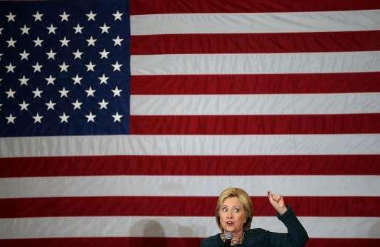 Hillary Clinton à  Marshalltown (Iowa), le 26 janvier.