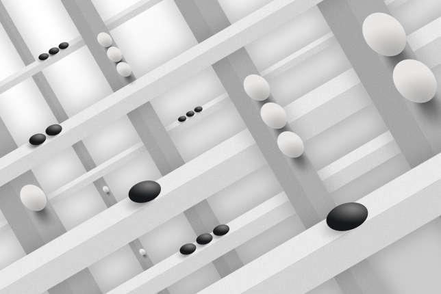 Le jeu de go représente un défi pour l'intelligence artificielle.