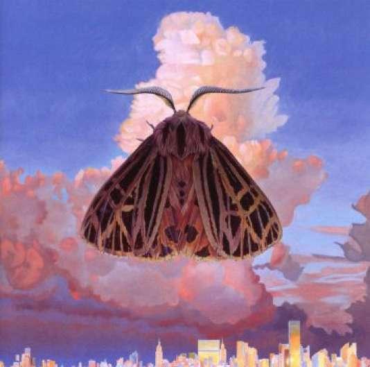 Pochette de l'album « Moth», de Chairlift.