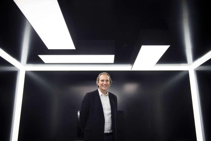 Xavier Niel, le 24 novembre à Paris.